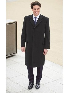 9760 Bond Mens Overcoat