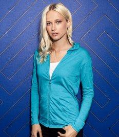 Ladies T-Shirts - Hooded Long Sleeve (2)