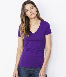 Ladies T-Shirts - V Neck (14)