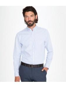 SOL'S Beverly Long Sleeve Striped Poplin Shirt