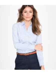 SOL'S Ladies Beverly Long Sleeve Striped Poplin Shirt