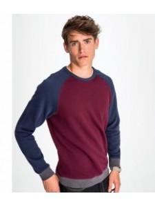 SOL'S Unisex Sandro Contrast Sweatshirt