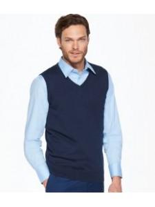SOL'S Gentlemen Sleeveless Cotton Acrylic V Neck Sweater