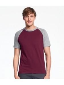 SOL'S Funky Contrast Baseball T-Shirt