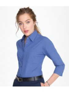 SOL'S Ladies Eternity 3/4 Sleeve Poplin Shirt