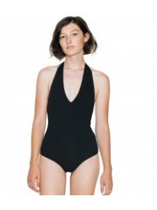 American Apparel Ladies Halter Neck Bodysuit