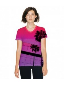 American Apparel Ladies Sublimation T-Shirt