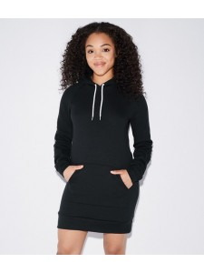 American Apparel Ladies Flex Fleece Hooded Dress