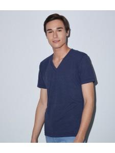 American Apparel Unisex Tri-Blend V Neck T-Shirt