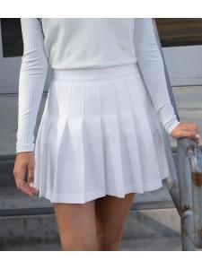 American Apparel Ladies Gabardine Tennis Skirt