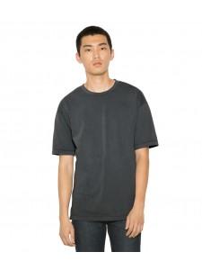 American Apparel Unisex French Terry Garment Dyed Short Sleeve Sweatshirt