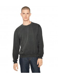 American Apparel Unisex French Terry Garment Dyed Crew Sweatshirt
