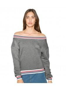 American Apparel Ladies Heavy Terry Sport Sweatshirt