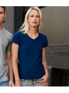 Anvil Ladies Lightweight V Neck T-Shirt