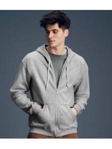 Anvil Fashion Full Zip Hooded Sweatshirt