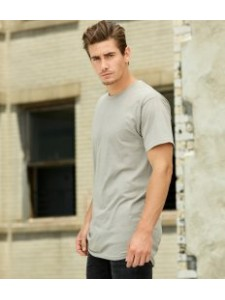 Canvas Long Body Urban T-Shirt