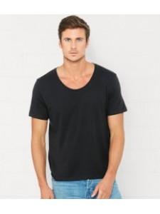 Canvas Wide Neck T-Shirt