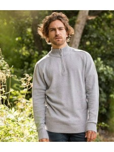Ecologie Wakhan Zip Neck Sweater
