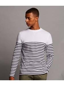 Front Row Long Sleeve Breton Stripe T-Shirt
