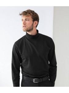 Henbury Long Sleeve Roll Neck Top