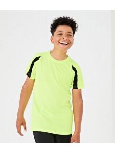 AWDis Kids Cool Contrast T-Shirt