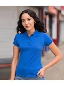 AWDis Girlie Stretch Piqué Polo Shirt