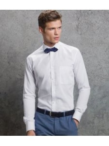 Kustom Kit Premium Long Sleeve Non-Iron Slim Fit Shirt