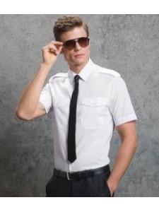 Kustom Kit Short Sleeve Pilot Shirt