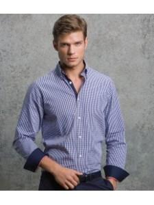 Kustom Kit Clayton & Ford Gingham Long Sleeve Shirt