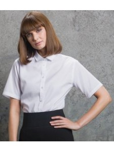 Kustom Kit Ladies Short Sleeve Premium Non-Iron Corporate Shirt