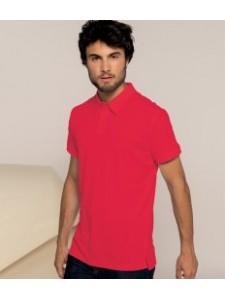 Kariban Melange Jersey Polo Shirt