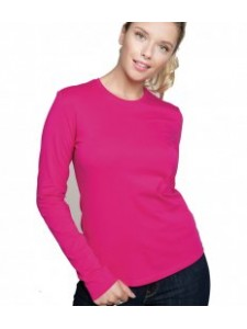 Kariban Ladies Long Sleeve Crew Neck T-Shirt