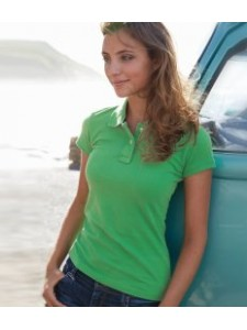 Kariban Vintage Ladies Cotton Piqué Polo Shirt