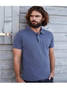 Kariban Vintage Washed Effect Piqué Polo Shirt