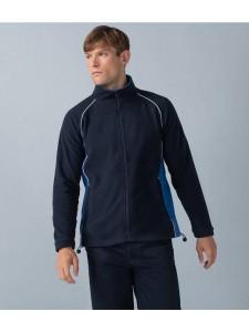 Finden and Hales Contrast Micro Fleece Jacket