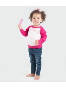 Larkwood Baby/Toddler Contrast Sweatshirt