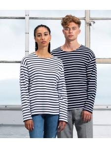 One By Mantis Long Sleeve Breton Stripe T-Shirt