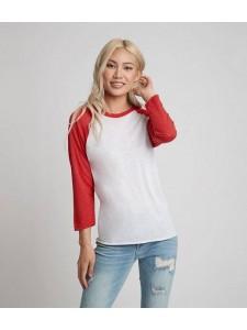 Next Level Unisex Tri-Blend 3/4 Sleeve Raglan T-Shirt