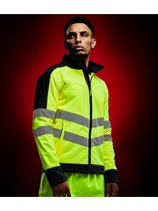 Regatta Hi-Vis Pro Contrast Soft Shell Jacket