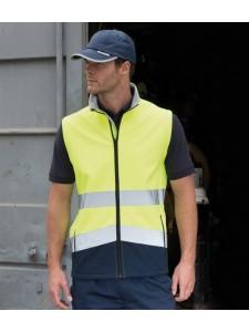 Result Safe-Guard Printable Safety Soft Shell Gilet