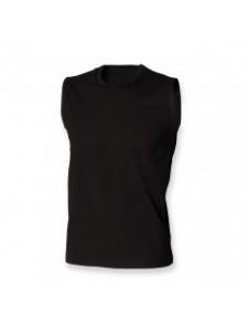 SF Men Modern Stretch Sleeveless T-Shirt