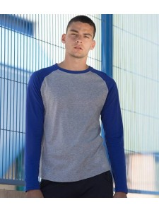 SF Men Long Sleeve Baseball T-Shirt