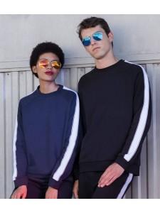 SF Unisex Contrast Raglan Sweatshirt