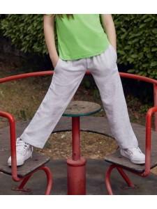 Fruit of the Loom Kids Lightweight Open Hem Jog Pants