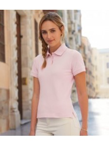 Fruit of the Loom Lady Fit Cotton Piqué Polo Shirt