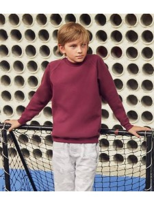 Fruit of the Loom Kids Classic Raglan Sweatshirt