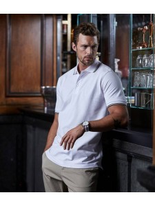 Tee Jays Luxury Stretch Tipped Polo Shirt