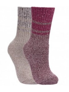 Trespass Ladies Hadley Boot Socks