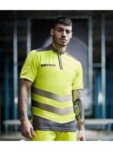 Tactical Threads Hi-Vis Piqué Polo Shirt