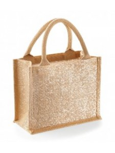 Westford Mill Shimmer Jute Mini Gift Bag